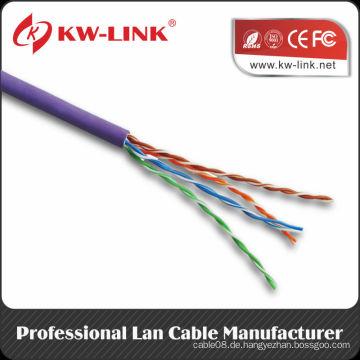 Besten Preis utp cat5e lan Kabel 4pr 24awg Netzwerkkabel 305m