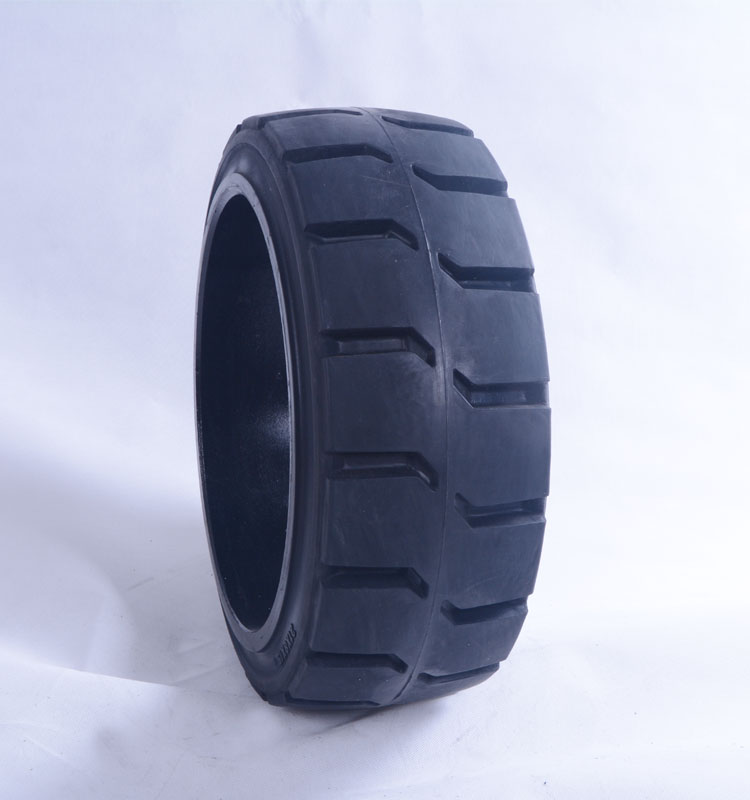 Forklift tyre 21X8X15 press on solid trailer tire