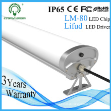 Impermeável 5 pés 150 centímetros tri-prova lâmpada LED com chips Epistar