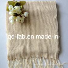 Echarpe en chanvre / coton biologique (HRS-5545)
