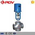 Soupape de commande de pression de débit de vapeur de commande électrique de 3 manières