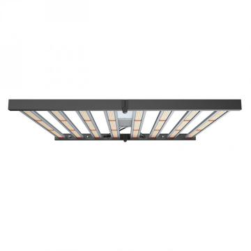 Luz de barras de cultivo LED plegable regulable de 640W