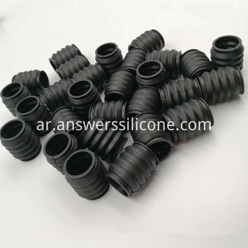Automobile rubber dustproof sleeve
