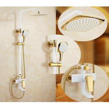 Bathroom Luxury Brass Rainfall Shower Set