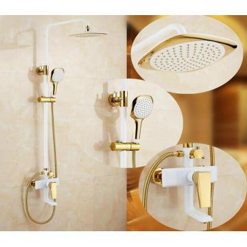 Badezimmer Luxus Messing Niederschlag Dusche Set