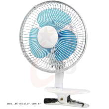 Ventilador elétrico Mini Clip de 6′′