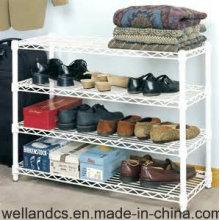Fábrica moderna del estante del estante del zapato del metal de la capa del polvo de DIY