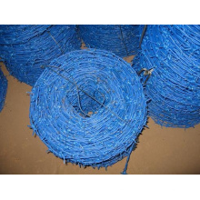 ПВХ покрытием синий оцинкованный колючей проволокой для промышленности (anjia-541)