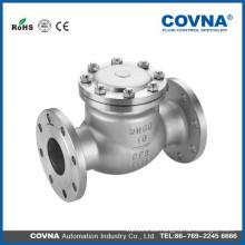 Válvula de retención ANSI Stainless Steel 304 con brida