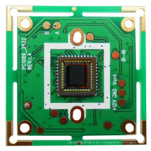 1/3 CMOS 1089 600tvl Tablero para la cámara del CCTV