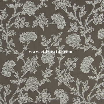 Newest Embroidery Like Window Curtain Shower Curtain
