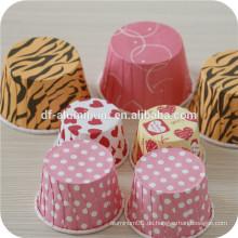 Fetthaltiger Papierkuchen, Papiermuffinbecher zum Verkauf
