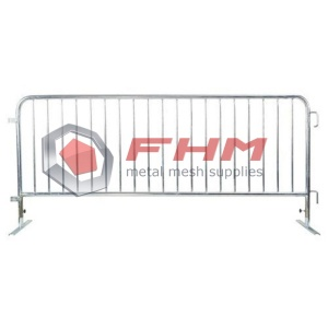 Glavaniserad Heavy Duty Interlocking Steel Barricade