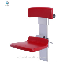 17T808 bathroom wall mounted folding up disabled shower seat washing seat
