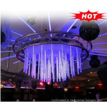 Bar e discoteca decoração 64leds / 32pixels / M tubos de luz endereçáveis 360 graus dmx 3d tubo vertical