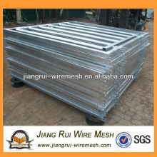 Hot-dipped galvanized 8 bar cattle panel gate