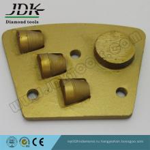 Шлифовальная трапециевидная пластина для сегмента PCD + Diamond