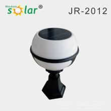 Solar ball lámpara de LED con alta brillante; Pilar solar luz con precio competitivo