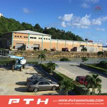 2015 Prefab Industrial Design Stahlstruktur Lager