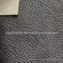 High Quality Breathable PU Furniture Leather (QDL-FB0049)