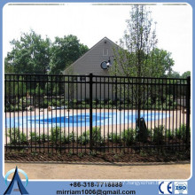 Height 1800mm or 2100mm villa wrought iron fence