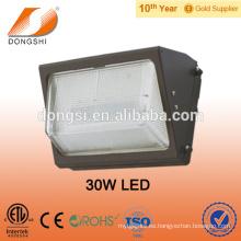 Precio bajo IP65 30-60W LED paquete de pared de iluminación