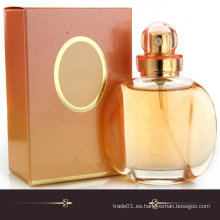 Botella de perfume cristalina de cristal fuerte de la alta calidad