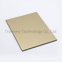 External Wall Cladding Brushed Copper Aluminum Composite Panel for Decorations
