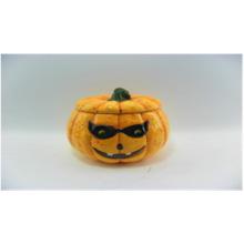 Kürbis-keramische Halloween-Kerzen-Halter (YC14033)