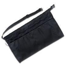 черный официантка фартук с карманом на молнии