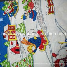 Mini Tejido Impreso y Teñido 300d * 300d 210-270G / M para Mantel Fabricante China