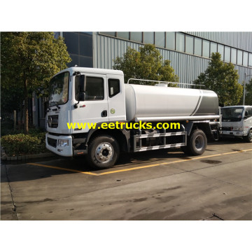 15 CBM 4x2 Road Water Tanker Trucks