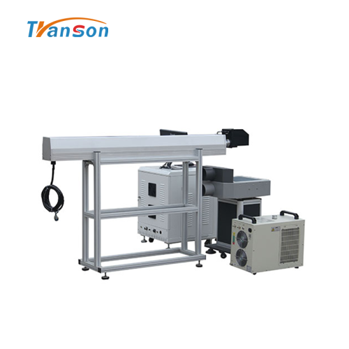 100W CO2 Laser Marking Machine Grave Cut Leather