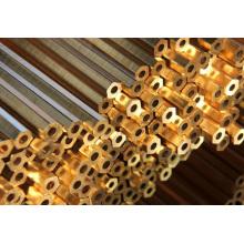 Tubo de cobre de parede fina / tubo de cobre de 12 polegadas / tubo de cobre de pequeno diâmetro