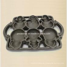 3PC Gusseisen-Hitze-Form für China-Fabrik