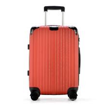 Maleta al por mayor de equipaje con cerradura TSA despojada personalizada