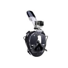 Máscara de protección UV bajo la luz solar