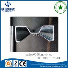 Profil M de stockage métallique M