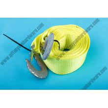 Correas de amarre de cordón amarillo