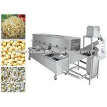 Alta qualidade automática feijão sprout máquina de lavar / feijão sprout peeling máquina / feijão sprout limpeza da máquina