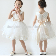 2016 Tulle Belt Bow Knot Custom First Communion Dress Gown