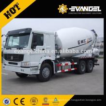 Dengfeng marca 6/7/8/9/10/12/15/16 cbm peso del camión hormigonera / capacidad del camión hormigonera / camión hormigonera