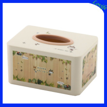 Rectangle Cartoon Plastic Tissue Boxes for Office