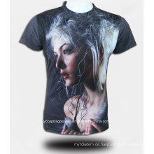 Großhandels-3D-Printed personalisierte benutzerdefinierte Tshirt