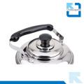 Bouilloire à eau en acier inoxydable et bouilloire à thé avec poignée portable