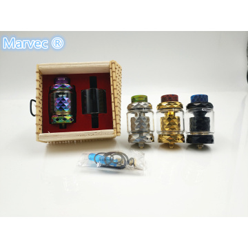 Colorful 510 Thread vapores RTA e-cig pulidos a mano