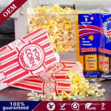 Top Quality Logo Printed Paper Popcorn Bags Microwave Popcorn Paper Bag Bakery Bag