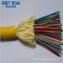 48 Cabo de distribuição de fibra óptica com Kevlar