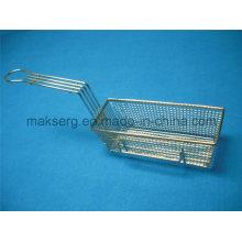 Stahlbratkorb 11 ′ ′ Mesh Basket Rectangle