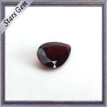 Glaring brillante corte natural de piedras preciosas granate